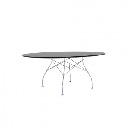 Kartell Glossy Oval Dining Table