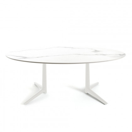 Kartell Multiplo Dining Table Oval
