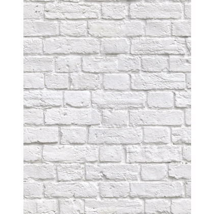 Kemra Boutique Wallpapers Soft White Bricks Wallpaper