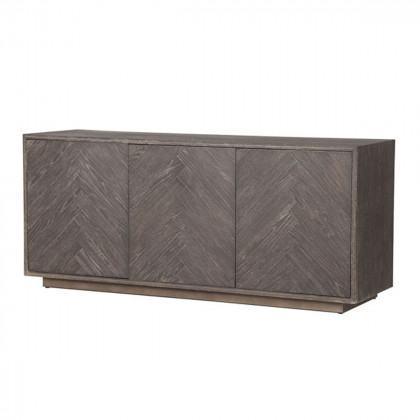 Black Aged Oak Sideboard