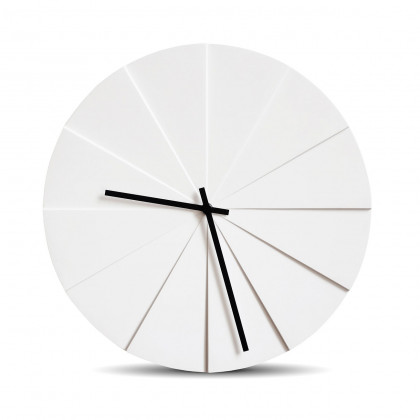 Leff Amsterdam White Scope45 Wall Clock