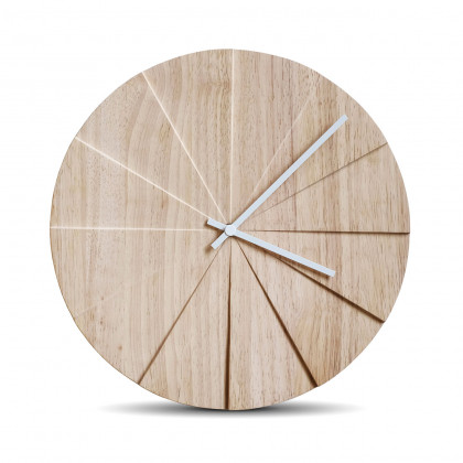 Leff Amsterdam Scope45 Wall Clock - Natural