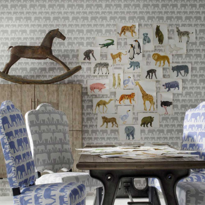 Andrew Martin Elephant Nell Wallpaper By Holly Frean