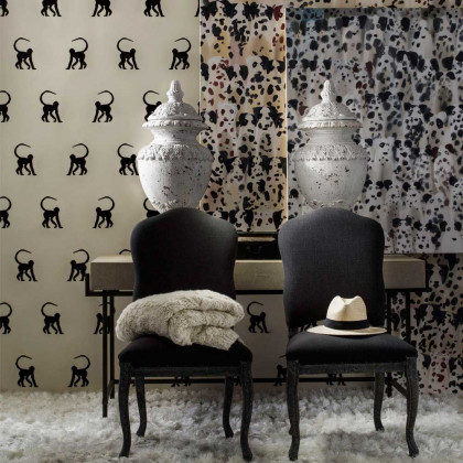 Andrew Martin Cheeky Monkey Wallpaper By Holly Frean