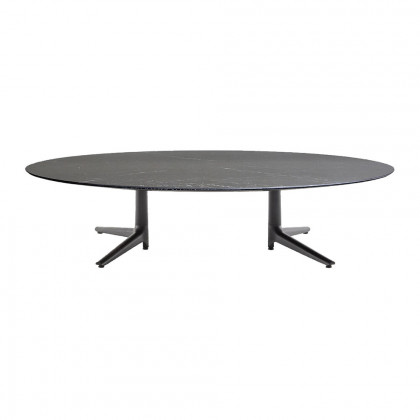 Kartell Multiplo Low Oval Table