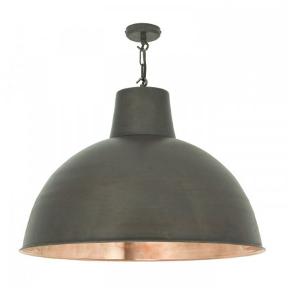 Original BTC Large Spun Reflecter Pendant Light