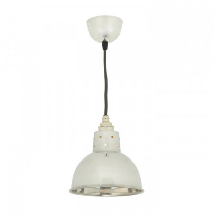 Original BTC Spun Reflecter Pendant Light with Cord Grip Lampholder