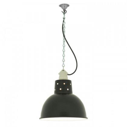 Original BTC Spun Reflecter Pendant Light with Suspension Lampholder