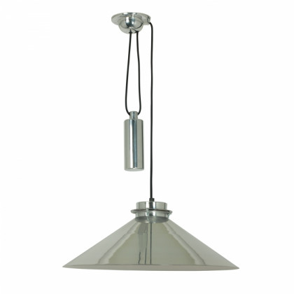 Original BTC Codie Rise and Fall Pendant - Polished Aluminium