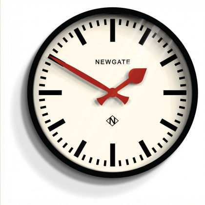 Newgate The Luggage Clock - Black