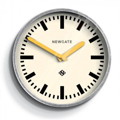 Newgate The Luggage Clock - Galvanised Steel
