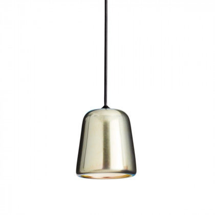 New Works Material Pendant Light - Black Fitting