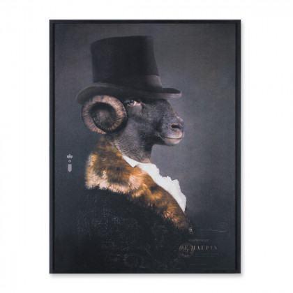 Ibride Portraits Mille De Maupin Print