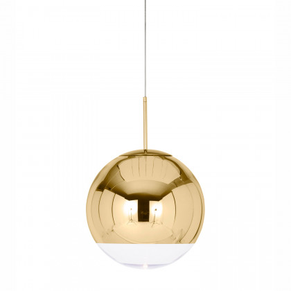 Tom Dixon Mirror Ball 50 Pendant Light - Gold