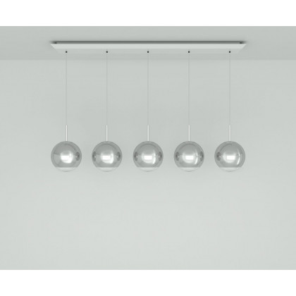 Tom Dixon Mirror Ball 25cm Linear Pendant System