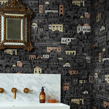 Cole and Son Mediterranea Wallpaper - Fornasetti