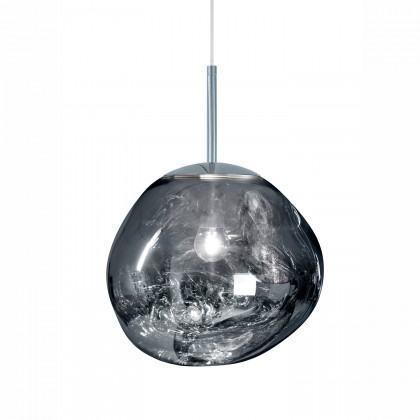 Tom Dixon Mini Melt Pendant Light - Chrome Silver