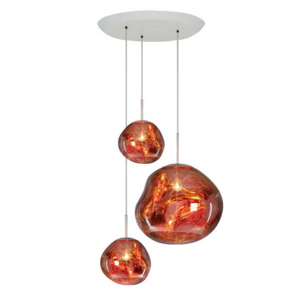 Tom Dixon Melt Trio Pendant System - Copper