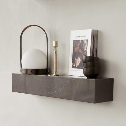 Menu Plinth Marble Shelf