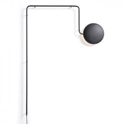 Woud Mercury Wall Lamp - Black