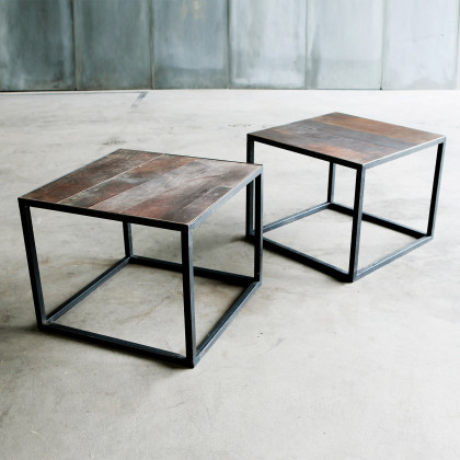 Heerenhuis Mesa Leather Coffee Table
