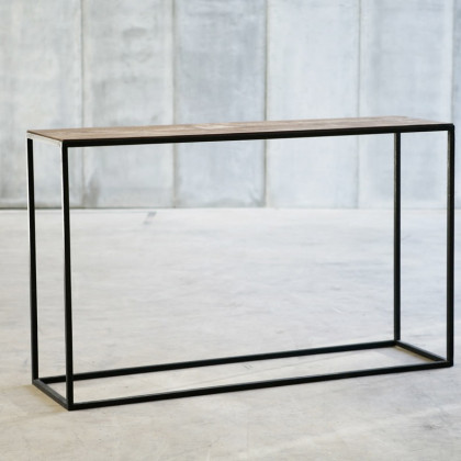 Heerenhuis Mesa Leather Console Table