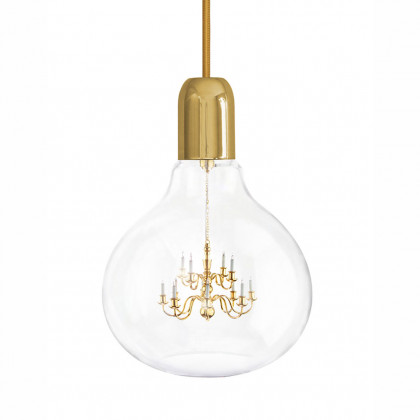 Mineheart King Edison Pendant Lamp - Gold