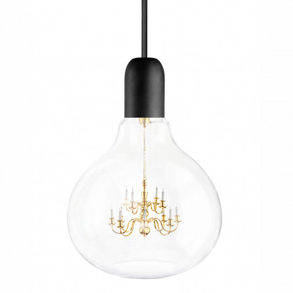 Mineheart King Edison Pendant Lamp - Black