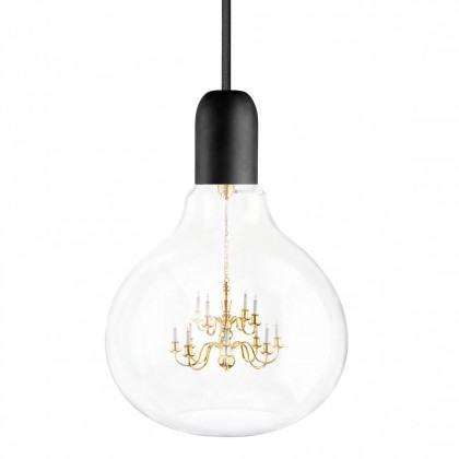 Mineheart King Edison Pendant Lamp - Black
