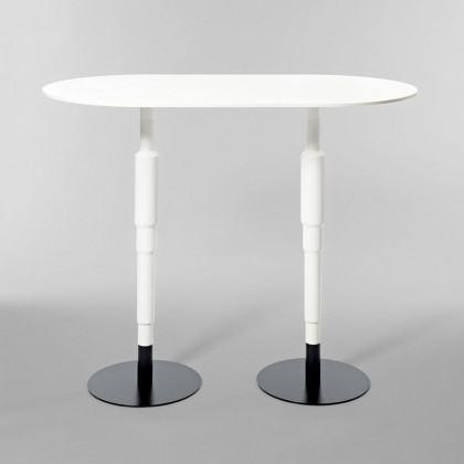 Minus tio Cosmos X Pedestal Bistro Table