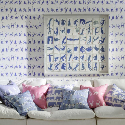 Andrew Martin Monkey Mischief Wallpaper By Holly Frean