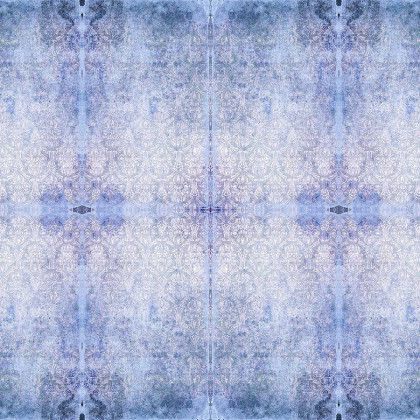 Blackpop Duprez Wallpaper - Misty Blue