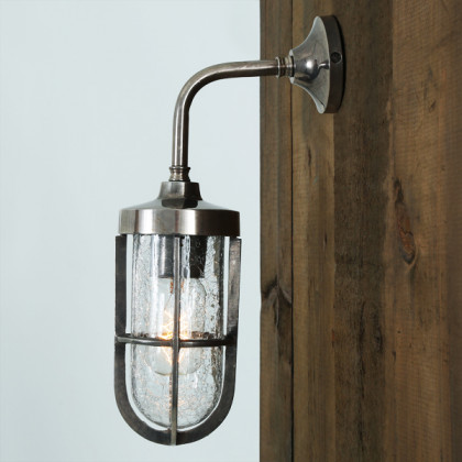 Industrial Well Glass Wall Light