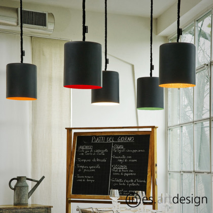 n-es.artdesign Bin Lavagna Pendant Light