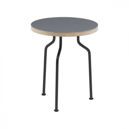 Gubi Modern Line Side Table - Round, 35cm Diameter
