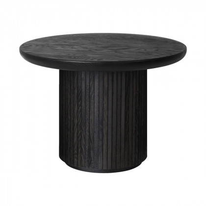 Gubi Moon Coffee Table - Round, 60cm Diameter, Wood Top