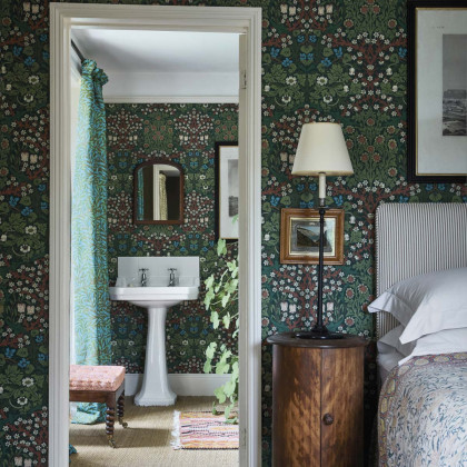 Morris and Co Blackthorn Wallpaper
