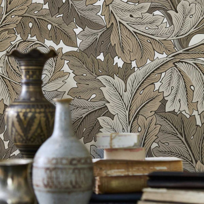 Morris and Co Acanthus Wallpaper