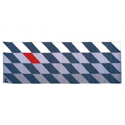 Simon Key Bertman Textile Design & Art- Moving Red Rug