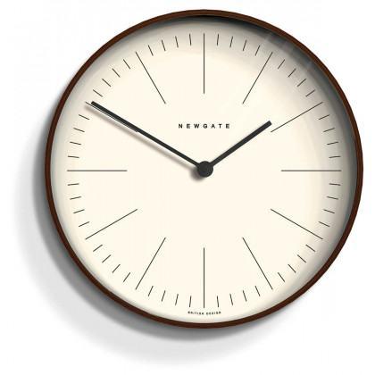 Newgate Mr Clarke Clock - Index - Plywood - Black