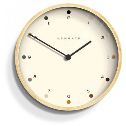 Newgate Mr Clarke Clock - Dots - Plywood