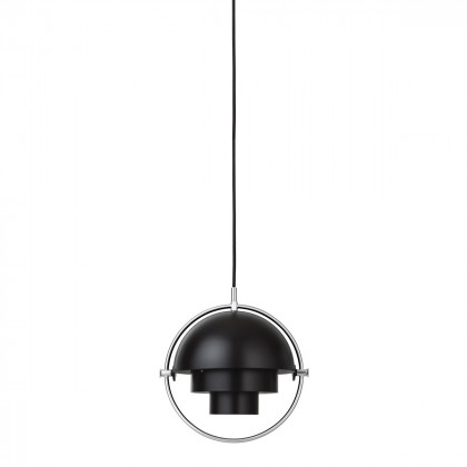 Gubi Multi-Lite Pendant Light - Small - Chrome
