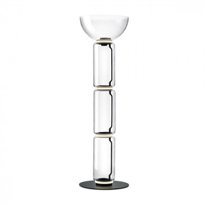 Flos Noctambule F3 High Floor Lamp - Cylinders and Bowl