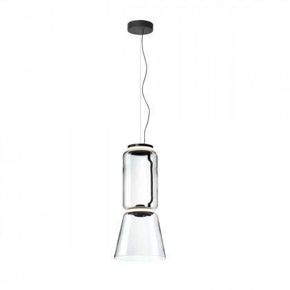 Flos Noctambule S Low Suspension Light - Cylinders and Cone
