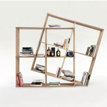 Wewood X2 Soild Oak Bookshelf