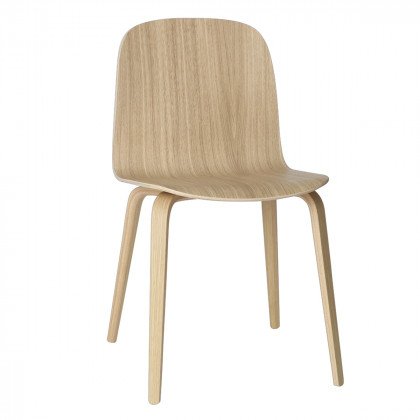 Muuto Visu Chair Wood Base-Oak