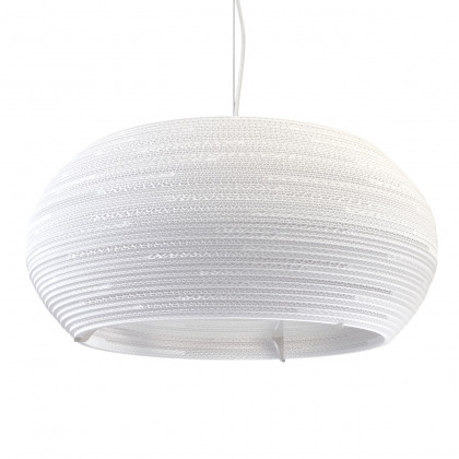 Graypants White Ohio Pendant Light 24 Inch