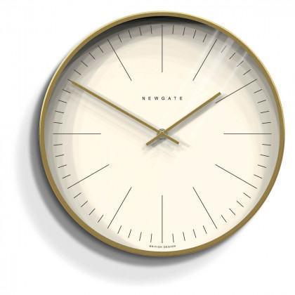 Newgate Oslo Clock - Index - Radial Gold