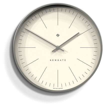 Newgate Oslo Clock - Index - Radial Silver