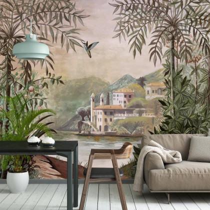 Coordonne Tempo Palazzo Mural